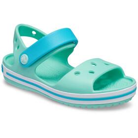 Crocs Crocband Sandalen Kinderen, groen